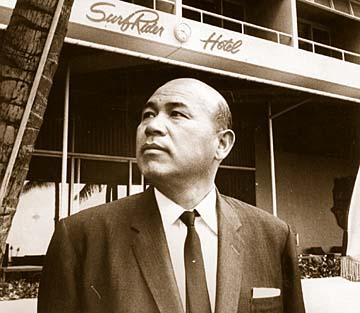 19990925 - Kenji Osano. SB BW by John Titchen. 1964. Press release photo.